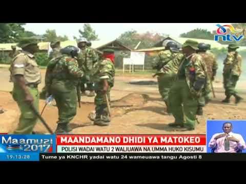 Watu 4 wameuwawa katika maeneo ya Nyanza
