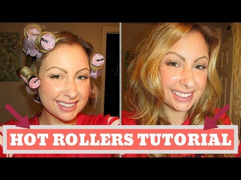 HOT ROLLERS TUTORIAL thumbnail