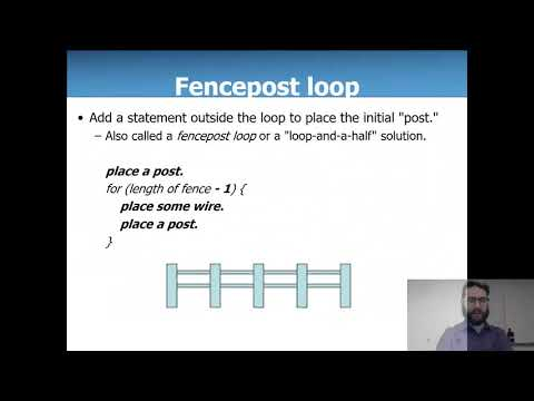 CIS 1068 - While Loops and Fence Posts