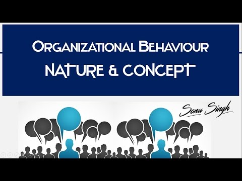 Organizational Behavior OB Nature Concept Meaning Characteristics BBA MBA Ppt