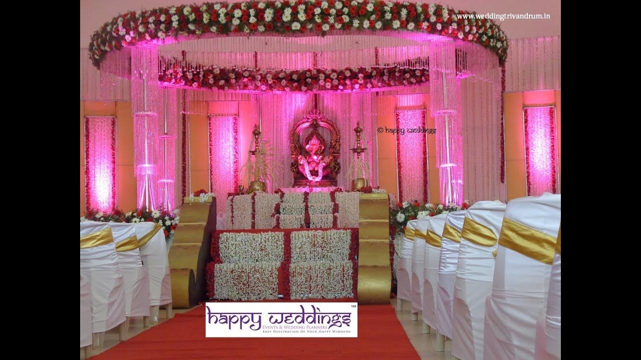 Stunning stage decoration in kerala rdr auditorium trivandrum stunning stage decoration in kerala rdr auditorium trivandrum by happy weddings youtube junglespirit Gallery