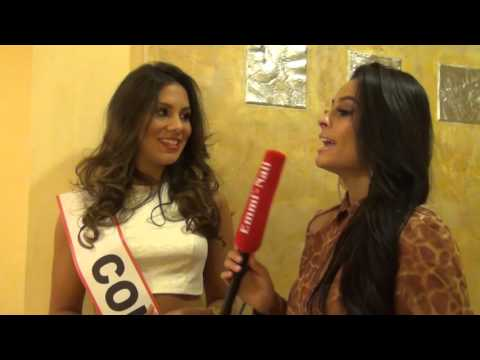 Miss Intercontinental 2015 - Miss Colombia Interview