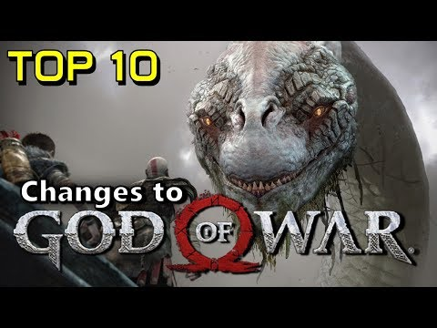 Top 10 | Changes to God of War