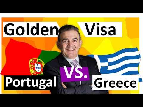 Golden Visa Greece vs. Golden Visa Portugal