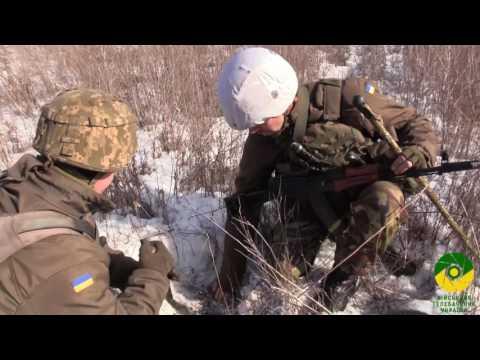Робота військових саперів поблизу Авдіївки