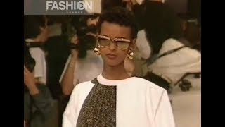 GIVENCHY Spring Summer 1991 Paris - Fashion Channel