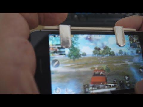 PUBG Mobile кнопки своими руками (фольга, палочки от мороженого)