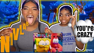 Tainy, J Balvin - Agua (Music From Sponge On The Run Movie/Official Video) | Reaction