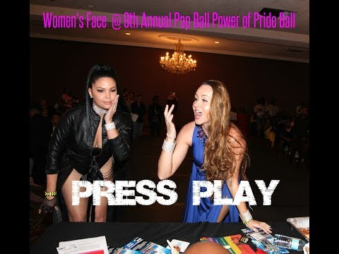 Women's Face  @ 9th Annual Pop Ball Power of Pride Ball