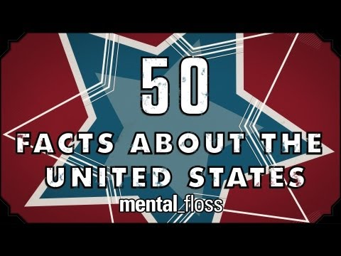 50 Great Facts About The 50 States - mental_floss on YouTube (Ep.17)