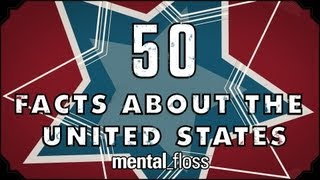 Repeat youtube video 50 Great Facts About The 50 States - mental_floss on YouTube (Ep.17)