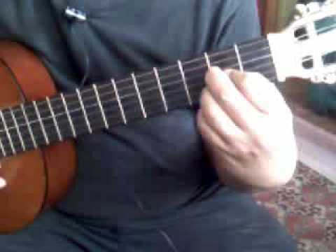 Beginner Guitar Chords: How to walk from A chord to C chord - YouTube