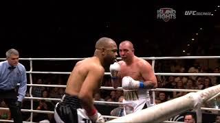 Roy Jones Jr Last Fight No Look Jab HD