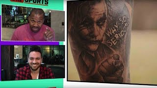 Odell Beckham Jr. Show's off CRAZY new tattoos! | TMZ Sports