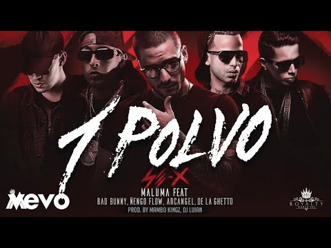Maluma - Un Polvo (Official Audio) ft. Bad Bunny, Arcángel, Ñengo Flow, De La Ghetto