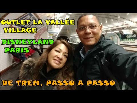 DISNEYLAND PARIS & OUTLET LA VALLÉE VILLAGE DE TREM
