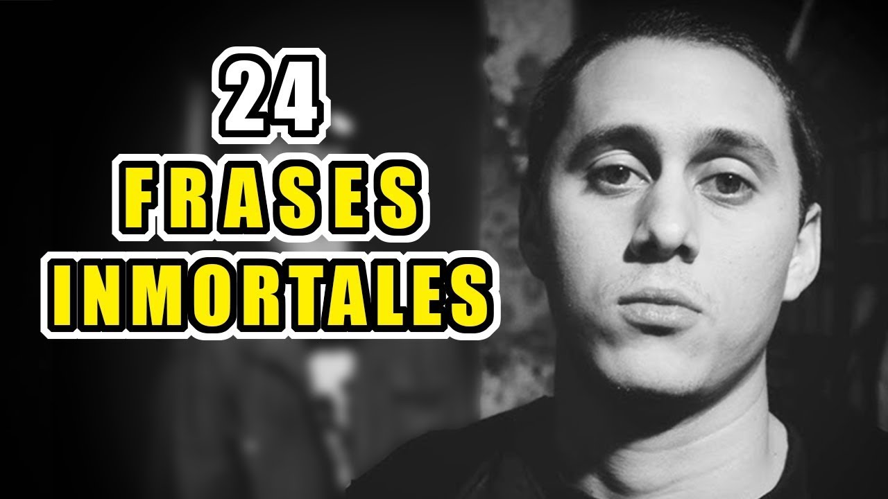 24 Frases Inmortales De Canserbero