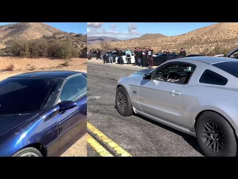 Q50 vs HELLCAT STREET RACING AT IT'S FINEST!!!!