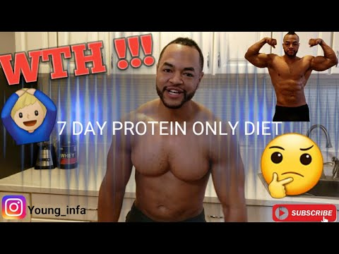 a diet of only protein