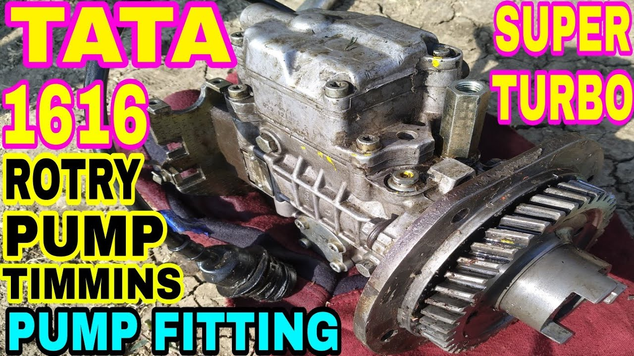 How to Pump Timming Set & Pump Fittings For Tata 1616 Super Turbo Engine in  Hindi #mechanicgyan by MECHANIC GYAAN