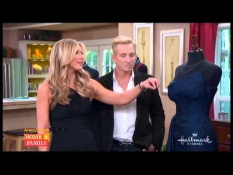 David Meister on Hallmark Channel's Home & Family, talking upcoming fashion at Golden Globes