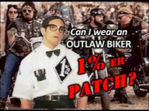 Can I Wear an Outlaw Biker 1%er Patch? - YouTube
