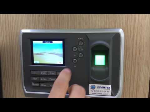 BioTech Az280 ID Parmak İzi Okuyucu - Personel Takip Sistemi