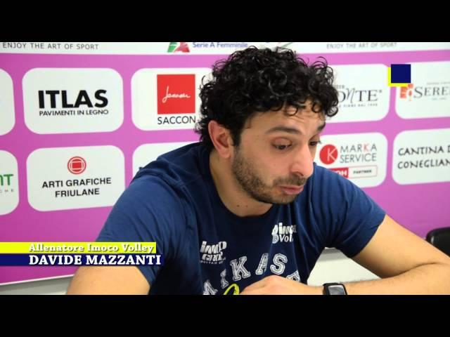 Campionato A1. Quarti di finale, gara 2. Imoco Volley Conegliano 3 Metalleghe Sanitars Montichiari 2