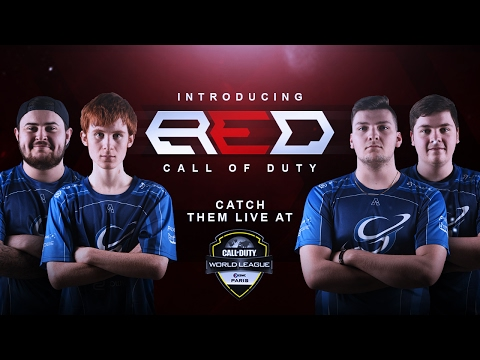 Introducing Red Reserve's Professional Call of Duty Team by Red Eban