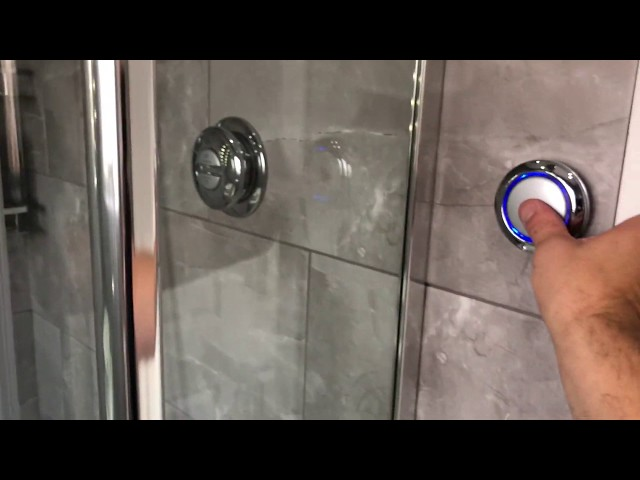 Small bathroom with Aqualisa shower by Tailored Bathroom Designs