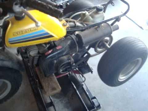suzuki alt50 motor youtube rh youtube com 1983 Suzuki LT 50 Quad Parts 1985 Suzuki 50 Quad Graphics