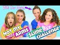 Not My Arms Slime Challenge With Our Mom!