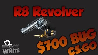 "CS:GO R8 Revolver bug! ""$700 bug"" *Patched*"