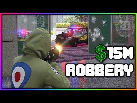 GTA 5 Roleplay - $15 Million Dollar Heist | RedlineRP