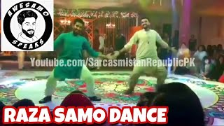 Raza Samo (Awesamo Speaks) Mehndi Dance Performance | Khujlee Family | HD