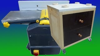 Mobile Base | Jointer/planer (part 2)