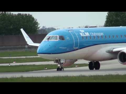 Airport Stuttgart STR - Airliner Spotting 2017