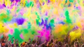 Лето *** Фестиваль красок Холи ) 2015
