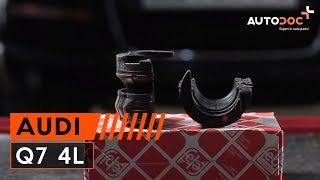Oprava AUDI Q7 vlastnými rukami - video sprievodca autom