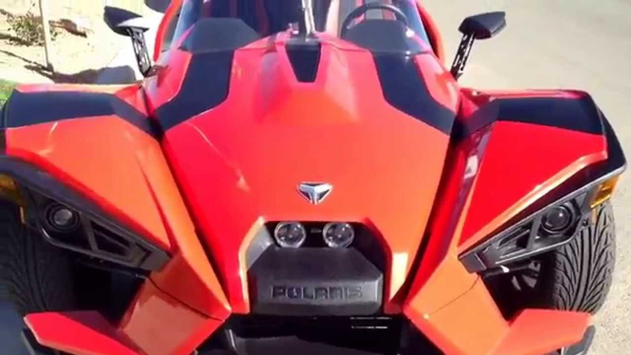 Driving In A Polaris Slingshot Car Motorcycle Hybrid Saweet By Legendary David You