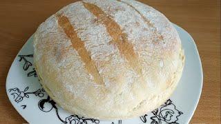ХЛЕБ без ЗАМЕСА. Его пекут УЖЕ все мои СОСЕДИ. Рецепт хлеба настолько прост, что проще не бывает.