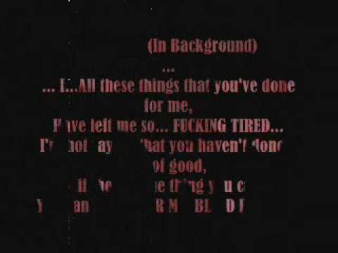 Alice In Chains - Bleed The Freak with lyrics