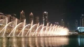 Dubai Fountain 2016 - I Will Always Love You  - Whitney Houston