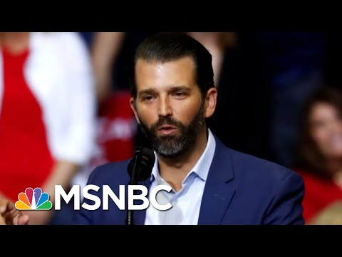 Donald Trump Jr. Strikes A Deal To Testify To Senate Intelligence Committee | The 11th Hour | MSNBC