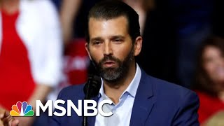 Donald Trump Jr. Strikes A Deal To Testify To Senate Intelligence Committee   The 11th Hour   MSNBC