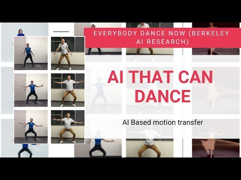 This AI can dance | Everybody Dance Now Explained !