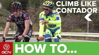 How To Climb Like Alberto Contador