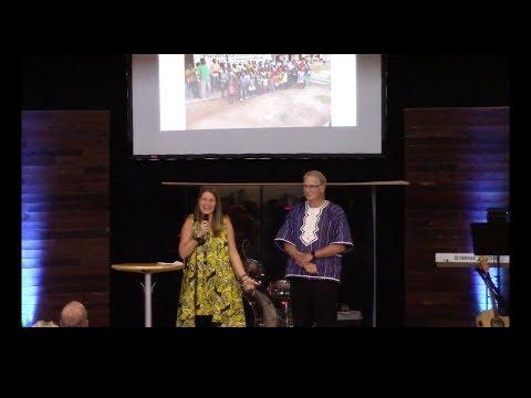 Jill Brown & Ken DeWitt share about their trip to Liberia.