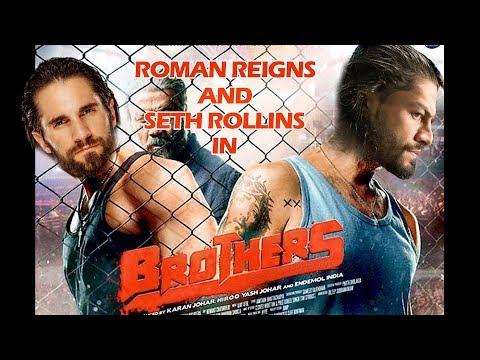 Roman Reigns and Seth Rollins in Brothers | Akshay Kumar | Sidharth Malhotra | Jacqueline Fernandez