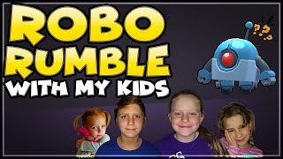 ROBO RUMBLE WITH MY KIDS | Who will get the best time?! | Brawl Stars